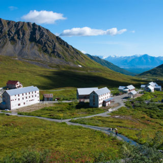 Historic Independence Gold Mine at Hatcher Pass